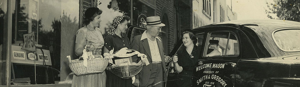 welcome wagon circa 1950